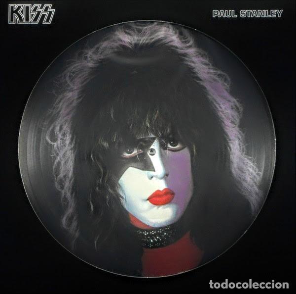 PAUL STANLEY KISS * VINILO 180G PICTURE DISC * EDICIÓN RUSA 2006 NUEVO * FOTODISCO (Música - Discos - LP Vinilo - Heavy - Metal)