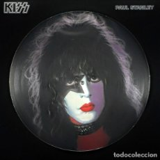 Discos de vinilo: PAUL STANLEY KISS * VINILO 180G PICTURE DISC * EDICIÓN RUSA 2006 NUEVO * FOTODISCO. Lote 236541500
