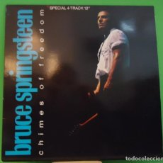 Discos de vinilo: EP 12'' BRUCE SPRINGSTEEN - CHIMES OF FREEDOM. Lote 148462030