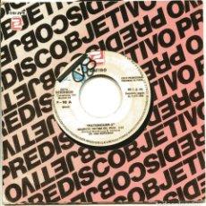 Discos de vinilo: PATXINGUER Z / MAURICIO, VICTIMA DEL VICIO / CON EL CULO AL AIRE (SINGLE PROMO 1984). Lote 148467178