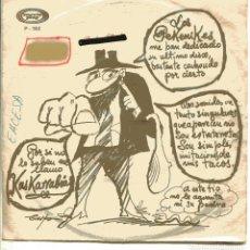Discos de vinilo: LOS PEKENIKES / KASKARRABIAS (SINGLE PROMO 1972) SOLO CARA A. Lote 148469614