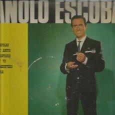 Discos de vinilo: MANOLO ESCOBAR. Lote 194289535