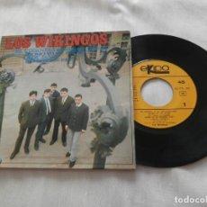 Discos de vinilo: LOS WIKINGOS 7´EP EL VIERNES DE MI RECUERDO + 3 (1967) EXCELENTE ESTADO **COLECCIONISMO**. Lote 148480634