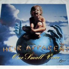 Discos de vinilo: LP HEIR APPARENT - ONE SMALL VOICE. Lote 148487822