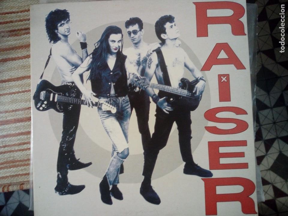 RAISER LP TERE EX-DESECHABLES (Música - Discos - LP Vinilo - Punk - Hard Core)