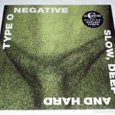 Discos de vinilo: LP TYPE 0 NEGATIVE - SLOW, DEEP AND HARD. Lote 148489994
