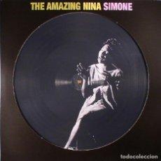 Discos de vinilo: THE AMAZING NINA SIMONE * LP VINILO 180G PICTURE DISC * LTD NUEVO * FOTODISCO. Lote 148508038