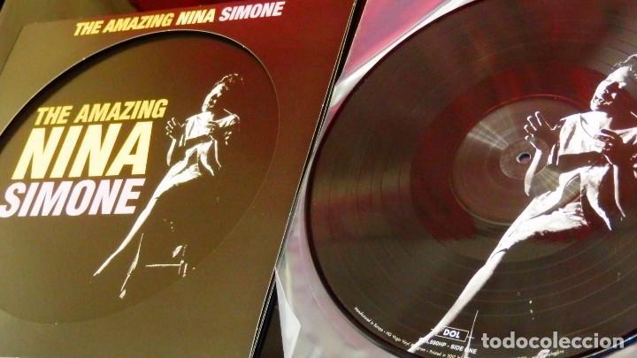 Discos de vinilo: THE AMAZING NINA SIMONE * LP Vinilo 180g PICTURE DISC * LTD Nuevo * Fotodisco - Foto 4 - 148508038