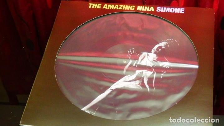 Discos de vinilo: THE AMAZING NINA SIMONE * LP Vinilo 180g PICTURE DISC * LTD Nuevo * Fotodisco - Foto 5 - 148508038