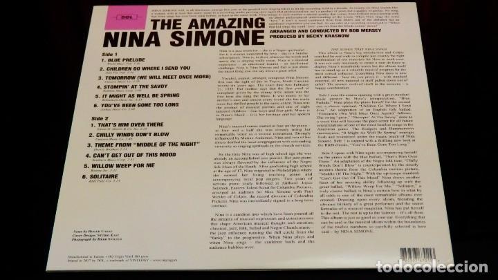 Discos de vinilo: THE AMAZING NINA SIMONE * LP Vinilo 180g PICTURE DISC * LTD Nuevo * Fotodisco - Foto 6 - 148508038