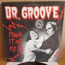 Discos de vinilo: DR. GROOVE / FREAK IT OUT MR. DJ / MAXI-SG / BREAK RECORDS - 1984 / MBC. ***/***. Lote 148519170