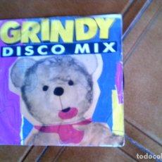 Discos de vinilo: DISCO GRINDY DISCO MIX VARIOS ,JOVANOTTI,DEN HARROW,SYLVESTER,PRIMERO ,BENCGER Y VARIOS DE LOS 80. Lote 148532362