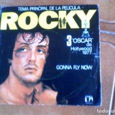 Discos de vinil: BANDA SONORA ORIGINAL DE LA PELICULA ROCKY ,GONNA FLY NOW. Lote 148532966