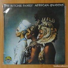 Discos de vinilo: AFRICAN QUEENS - THE RITCHIE FAMILY - LP. Lote 148536340