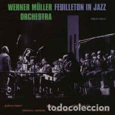 Discos de vinilo: WERNER MÜLLER ORCHESTRA - FEUILLETON IN JAZZ (SONORAMA, L-108 10'', GERMANY 2018) PRECINTADO! JAZZ. Lote 148537130