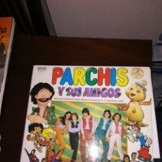 Discos de vinilo: PARCHIS Y SUS AMIGOS DISCO DE VINILO TVE PETETE ZIPI Y ZAPE AÑOS 80. Lote 148540596