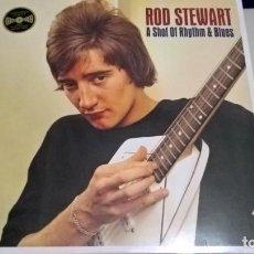 Discos de vinilo: MUSICA LP: ROD STEWART - A SHOT OF RHYTHM & BLUES.CANCIONES GRABADAS 1964/1966 ¡UNA JOYA!. Lote 148543578
