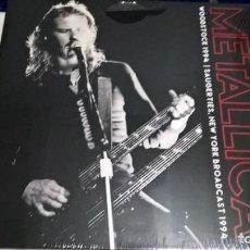 Discos de vinilo: MUSICA LP: METALLICA - WOODSTOCK 1994 DOBLE DIRECTO 2017 EEUU (ABLN). Lote 148544094