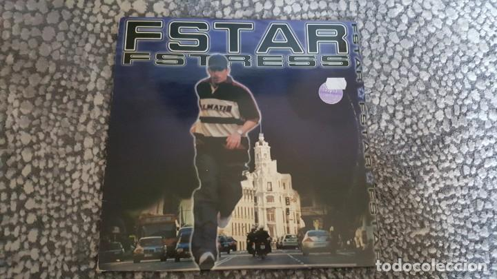 FSTAR ?– FSTRESS EP VINILO HIP HOP ESPA?OL MUY RARO (Música - Discos - Singles Vinilo - Rap / Hip Hop)