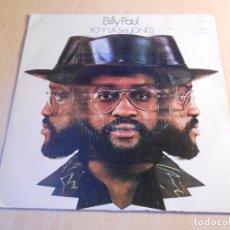 Discos de vinilo: BILLY PAUL, SG, ME AND MRS. JONES (YO Y LA SRA. JONES) + 1, AÑO 1973. Lote 148558530