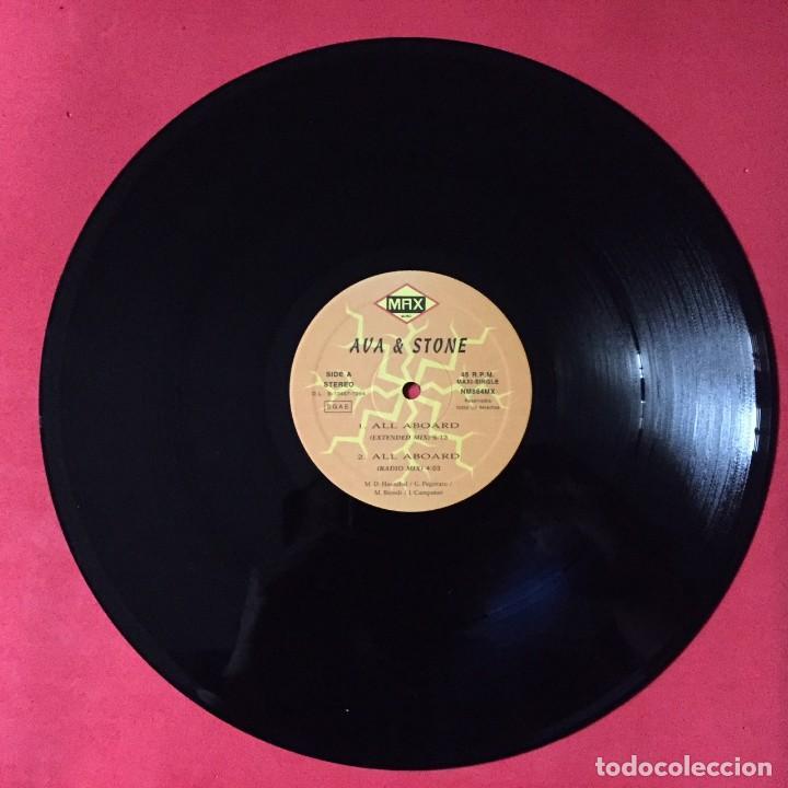 AVA & STONE – ALL ABOARD (Música - Discos de Vinilo - Maxi Singles - Disco y Dance)
