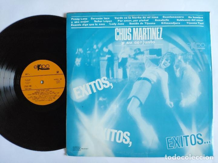 Discos de vinilo: CHUS MARTINEZ Y SU CONJUNTO - LP Spain PS - MINT * Exitos, Exitos, Exitos - Foto 2 - 148594894