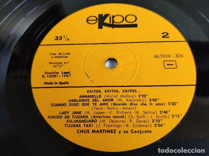 Discos de vinilo: CHUS MARTINEZ Y SU CONJUNTO - LP Spain PS - MINT * Exitos, Exitos, Exitos - Foto 4 - 148594894