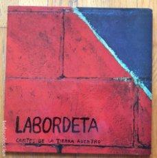 Discos de vinilo: LABORDETA CANTES DE LA TIERRA ADENTRO. Lote 148615570