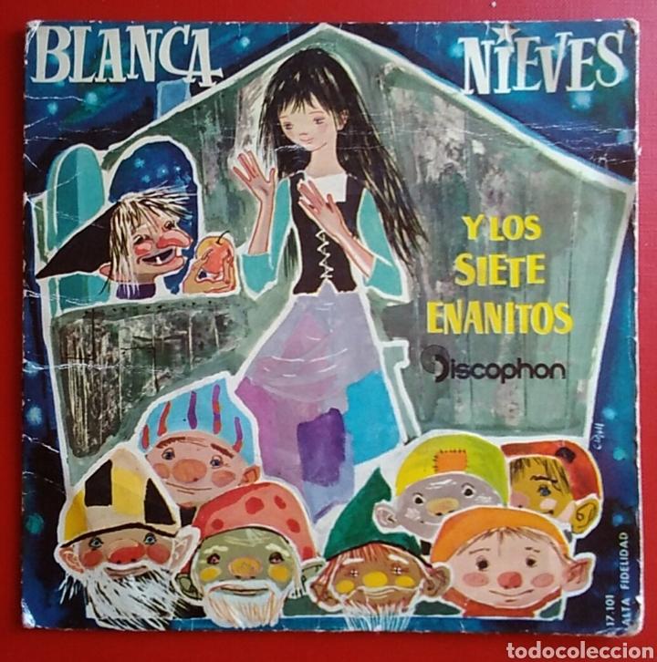 DISCO VINILO PEQUEÑO BLANCANIEVES DISCOPHON (Música - Discos de Vinilo - Maxi Singles - Música Infantil)