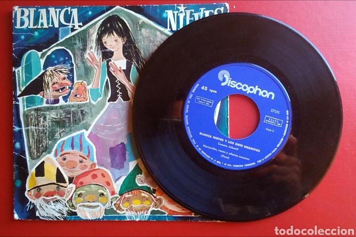 Discos de vinilo: Disco vinilo pequeño blancanieves discophon - Foto 3 - 148634081