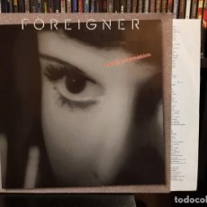 Discos de vinilo: FOREIGNER - INSIDE INFORMATION - NUEVO. Lote 148639334