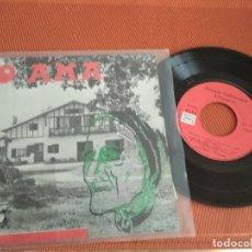 Discos de vinilo: GROUPE FOLKLORIQUE BILTZARRA / O AMA ( MAMY BLUE) EP 45 RPM . Lote 148651514
