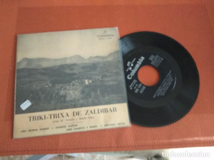 TRIKI TRIXA DE ZALDIBAR / AMA ZEURIAK EZANDIT/ EP 45 EPM / CINSA 1960 (Música - Discos de Vinilo - EPs - Country y Folk)