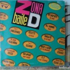 Disques de vinyle: *** ZONA DE BAILE (ZONA D BAILE) - DOBLE LP AÑO 1991 - LEER DESCRIPCIÓN. Lote 148657558