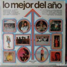 Discos de vinilo: *** LO MEJOR DEL AÑO BELTER - VERSIONES Y ARTISTAS ORIGINALES - LP 1971 - LEER DESCRIPCIÓN. Lote 148659242