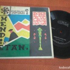 Discos de vinilo: I FESTIVAL DE LA CANCION VASCA / NORA / EP 45 RPM / CINSA 1964. Lote 182641658