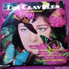 Discos de vinilo: DISCO LP VINILO LOS CLAVELES JOSÉ SERRANO ZARZUELA AÑO 1959 DISCOS ZAFIRO. Lote 148660102