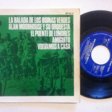 Discos de vinilo: ALAN MOORHOUSE - LA BALADA DE LOS VOINAS VERDES - EP 1966 - HISPAVOX. Lote 148664738