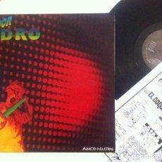 Discos de vinilo: AVIADOR DRO - AMOR INDUSTRIAL - MAXI 12 45 1983 INCLUYE COMIC EL DOCTOR ARCANO - DRO. Lote 148675266