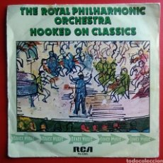Discos de vinilo: DISCO VINILO MAXI SINGLE THE ROYAL PHILHARMONIC ORCHESTRA HOOKED ON CLASSICS 1981 RCA RECORDS. Lote 148675914