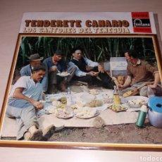 Discos de vinilo: TENDERETE CANARIO - LOS CANTORES DEL TENEGUIA. Lote 148678632