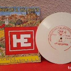 Discos de vinilo: FLEXI DISC SINGLE DISCO VINILO RARO HIDROELECTRICA ESPAÑOLA DON KILOVATIO CUENTO LA CENICIENTA 1970. Lote 148684630