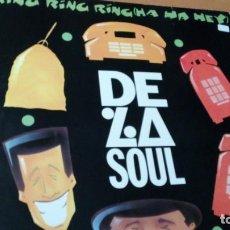 Discos de vinilo: DE LA SOUL RING RING RING HA HA HEY MAXI VINILO. Lote 148688026