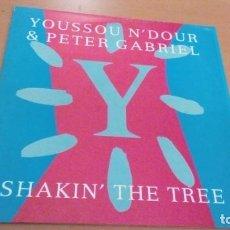 Discos de vinilo: YOUSSOU N´DOUR & PETER GABRIEL SHAKIN´ THE TREE MAXI VINILO. Lote 148689198