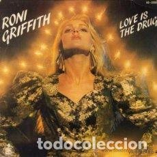 Discos de vinilo: RONI GRIFFITH – LOVE IS THE DRUG SELLO: VANGUARD – 45-2255 FORMATO: VINYL, 7. Lote 148701862