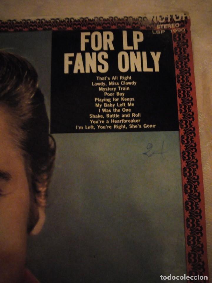 Discos de vinilo: ELVIS PRESLEY - FOR LP FANS ONLY - AÑO 1970 - RCA VICTOR STEREO. fabricado en españa - Foto 2 - 148703286