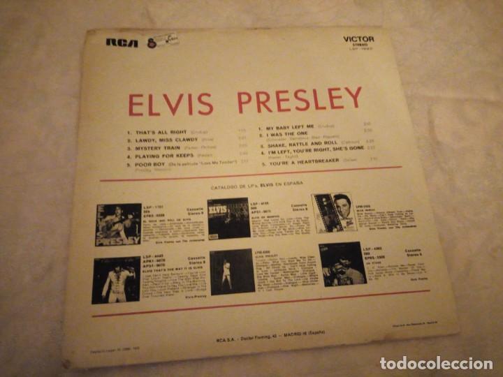 Discos de vinilo: ELVIS PRESLEY - FOR LP FANS ONLY - AÑO 1970 - RCA VICTOR STEREO. fabricado en españa - Foto 4 - 148703286
