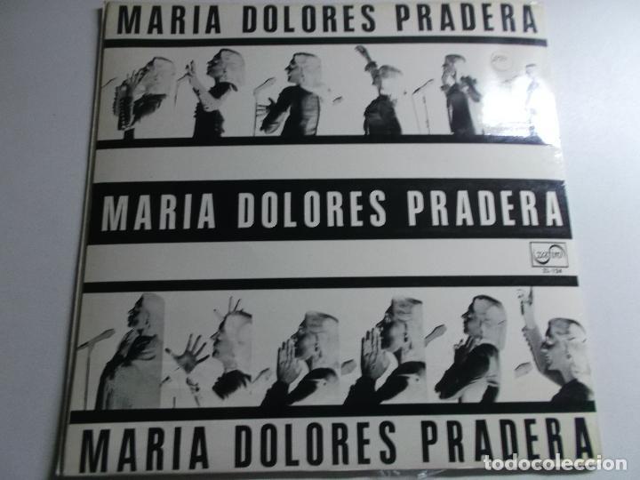 MARIA DOLORES PRADERA CUANDO LLORA MI GUITARRA 1970 ZAFIRO (Música - Discos - LP Vinilo - Solistas Españoles de los 50 y 60)