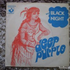 Discos de vinilo: DEEP PURPLE. BLACK NIGHT. . Lote 148764870