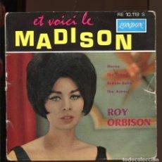 Discos de vinilo: ROY ORBISON. MAMA. THE CROWD. DREAM BABY, THE ACTRESS. LONDON . EP. Lote 148765130